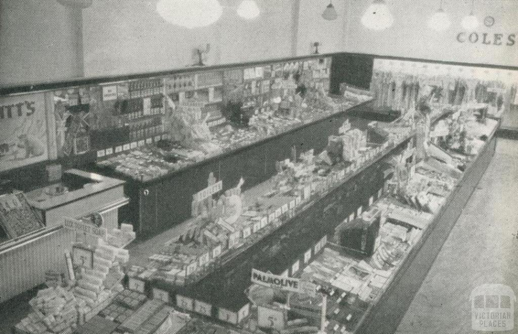 New Coles Store at Thornbury, 1948