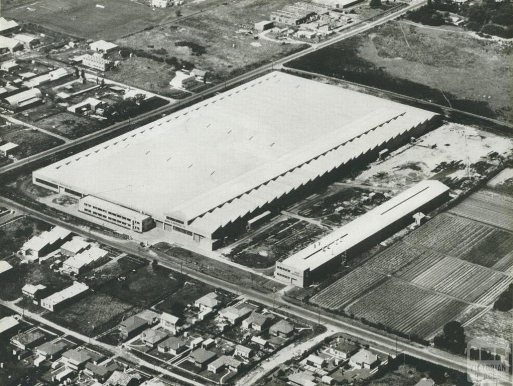 Johns & Waygood, Structural Shop and Galvanizing Plant, Sandringham, 1956