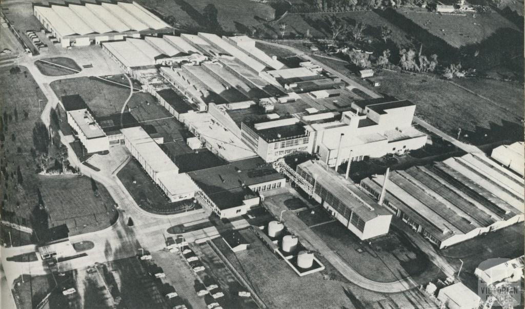 Fibremakers Ltd, Bayswater North, 1970