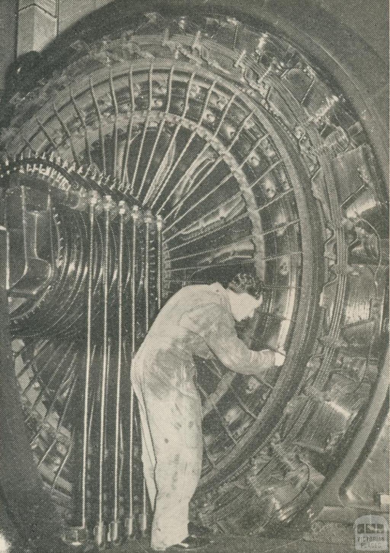 Jolimont Sub-station, 1950