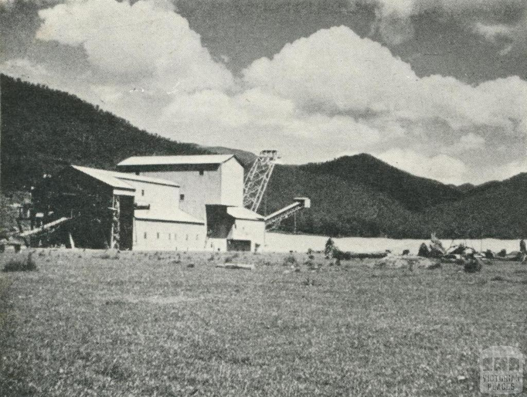 Gold Mining Dredge, Harrietville, 1960