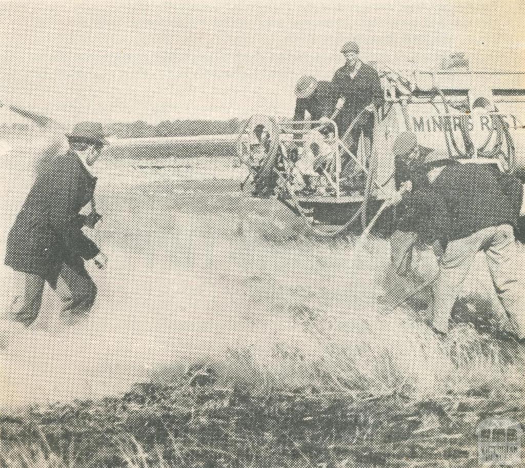 Rural Fire Brigade, Miners Rest, 1962