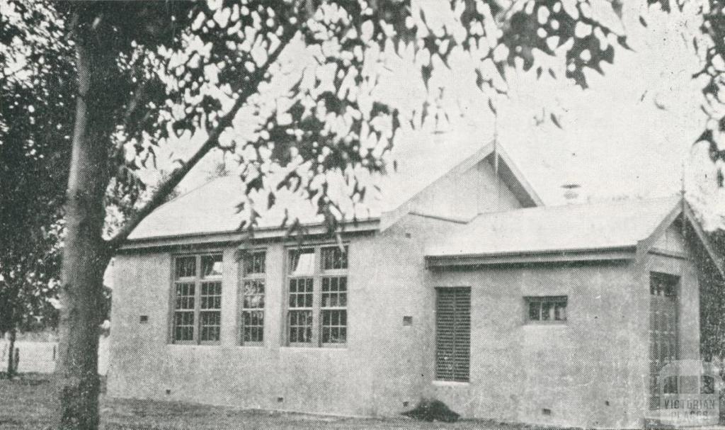 Lutheran School, Ni Ni, 1924