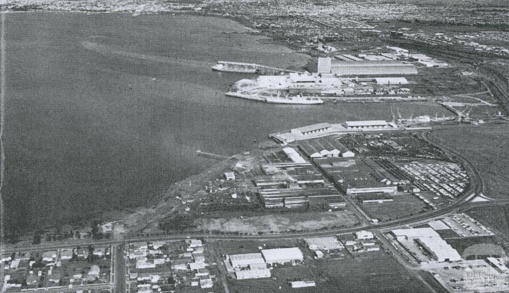 Corio Quay Shipping Area, 1965