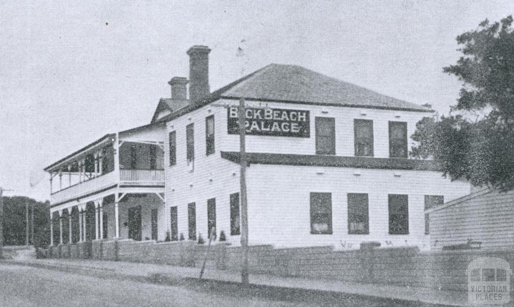 Back Beach Palace, Ocean Beach Road, Sorrento, 1948