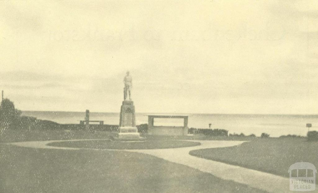 War Memorial, Carrum, 1938