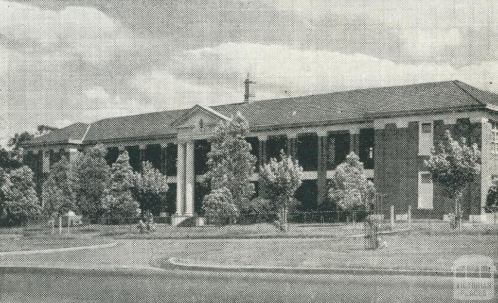 Boy's High School, Box Hill, 1956