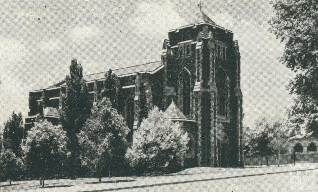 Presbyterian Church, Box Hill, 1956