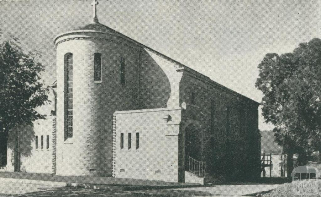 Church of England, Box Hill, 1956