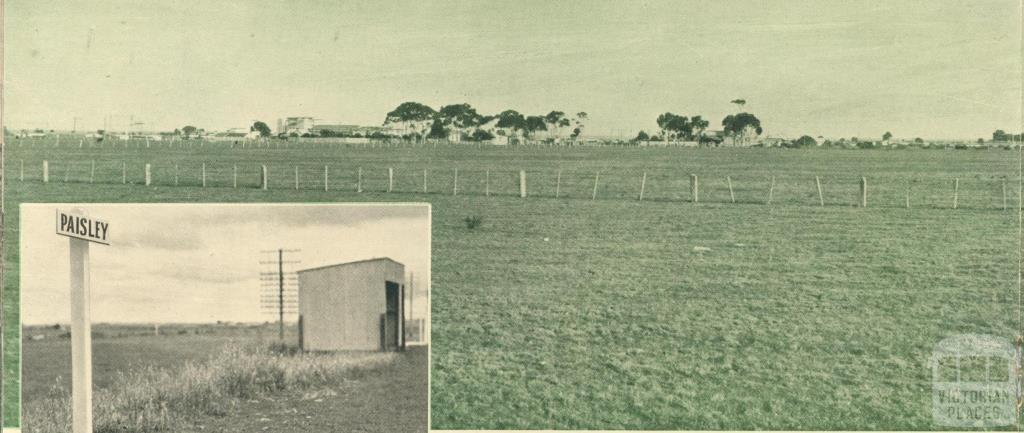 Paisley's skyline, 1946