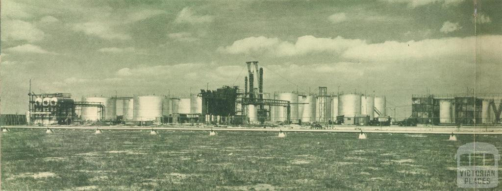 Altona Refinery, 1949