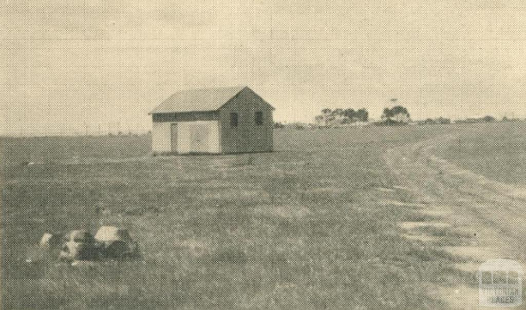 First building at the Altona Refinery site, 1949