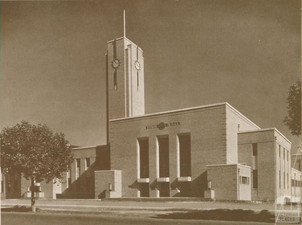 New Town Hall, Ivanhoe, 1937