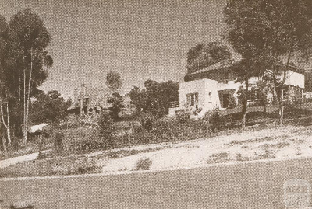 Homes at 35-41 Mount Street, Eaglemont, 1937
