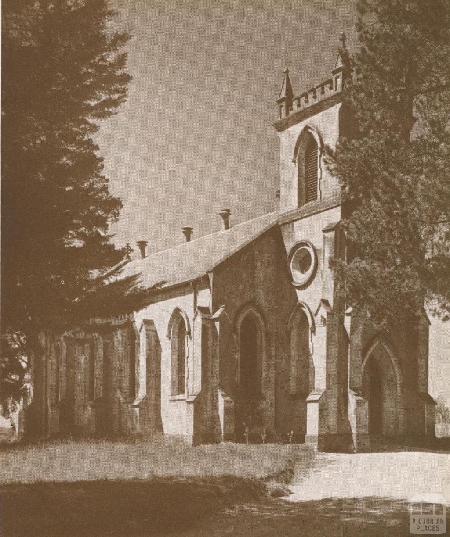 St Johns Church of England, Heidelberg, 1937
