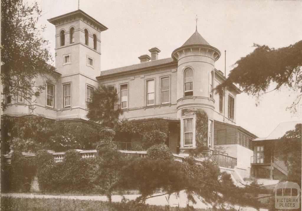 Sherwood House, Ivanhoe Grammar School, 1937