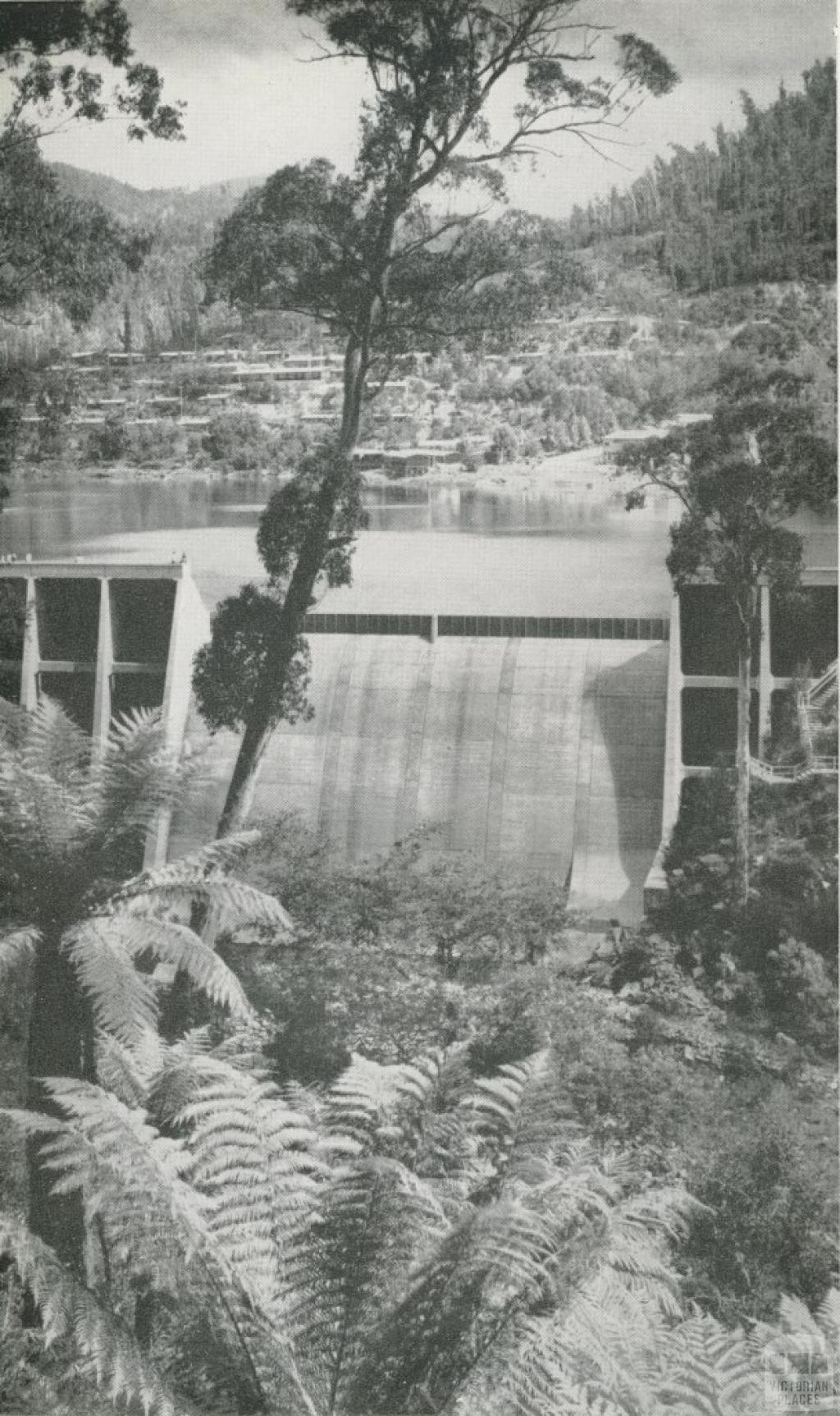 Junction Dam, East Kiewa River, c1960
