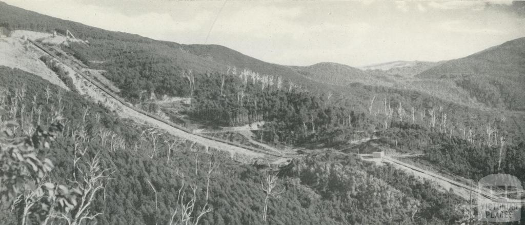 Surface water pipeline for No 1 Power Station, Kiewa, c1960