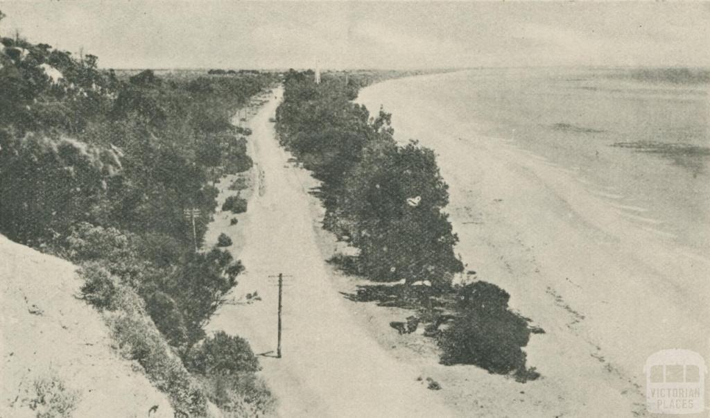 The Beach Road near Rosebud