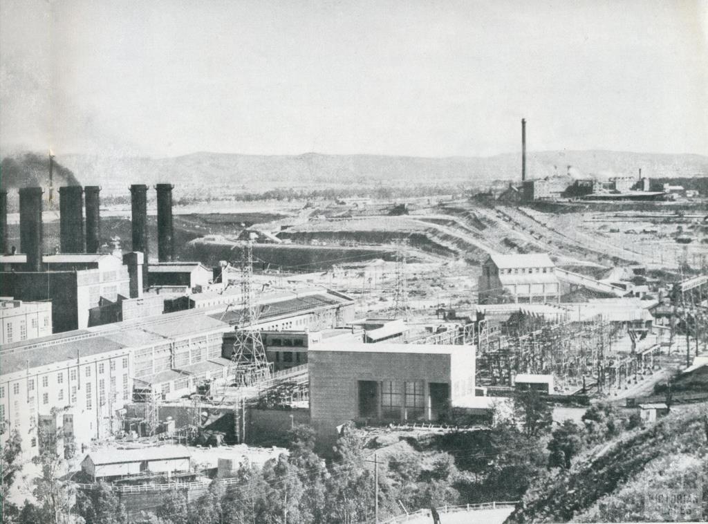 Yallourn power station, 1954