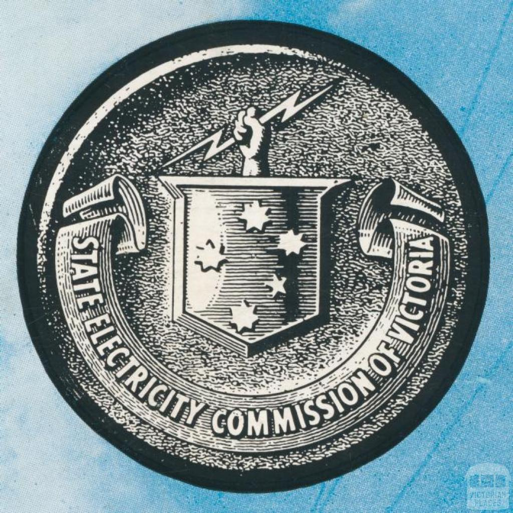 State Electricity Commission of Victoria Crest, 1954