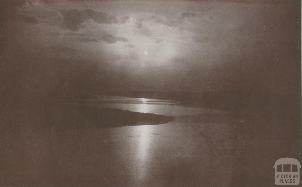Moonlight at Jemmy's Point, 1934