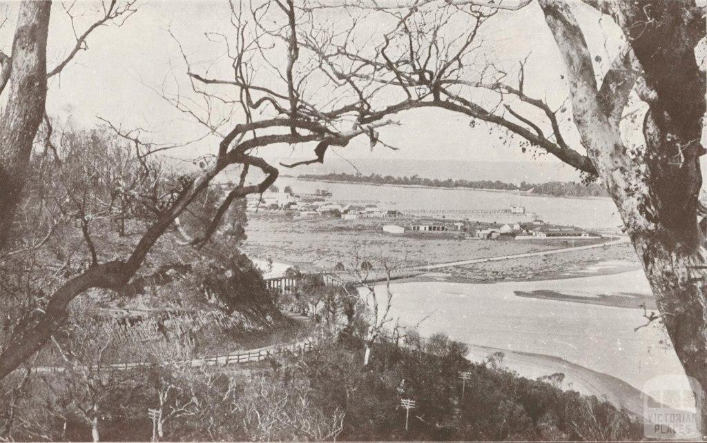 Lakes Entrance, taken from the Princes Highway, 1934
