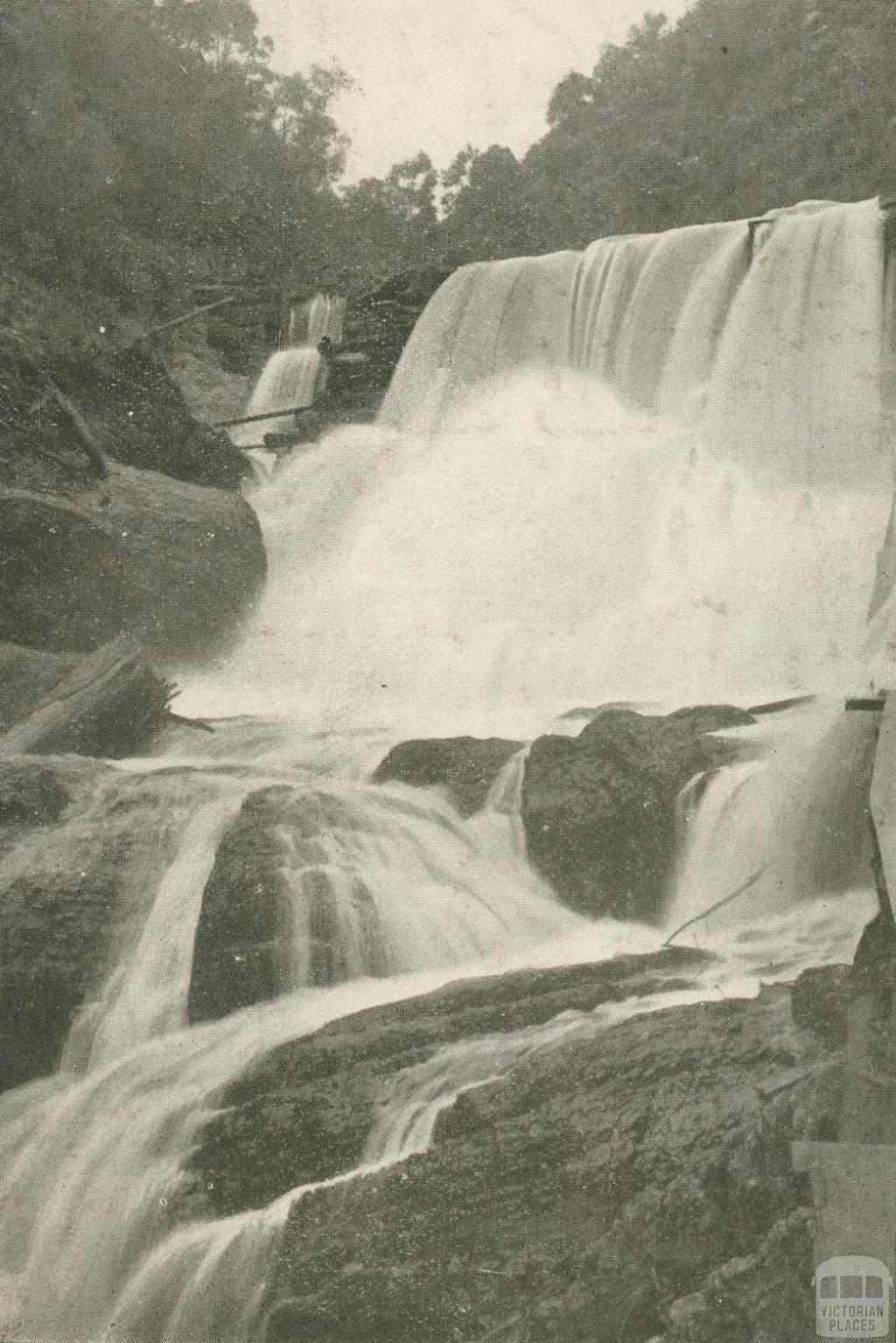 Falls on Stringer Creek, Walhalla, c1910