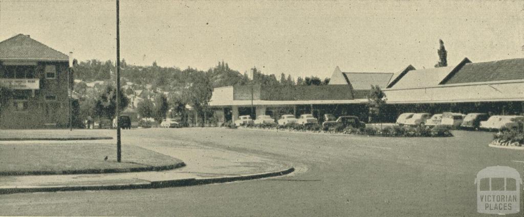 Centreway Shops, Yallourn, 1961