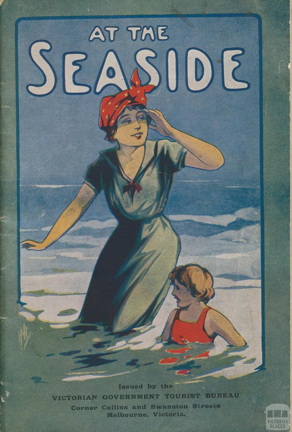 At The Seaside, 1910