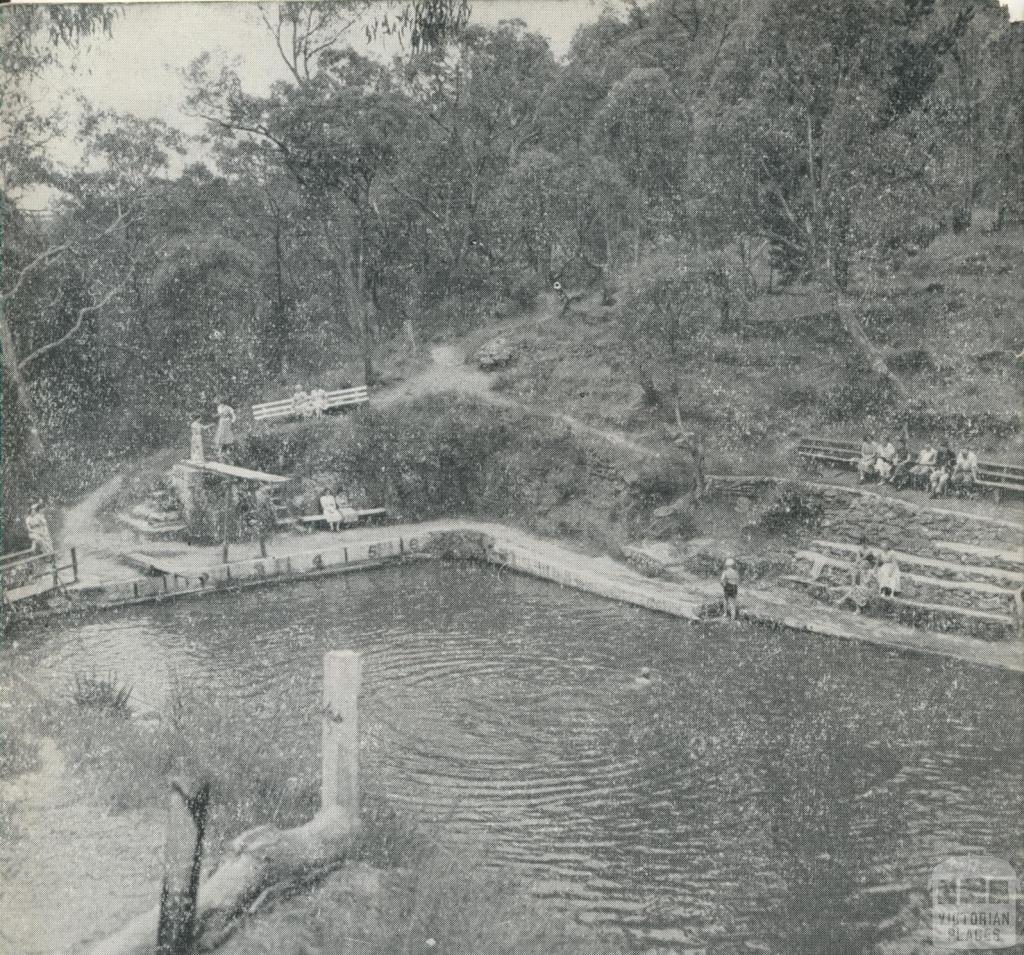 Hepburn Springs Swimming Pool, 1959