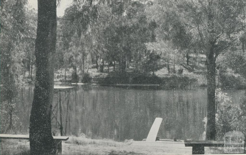 Swimming Pool, Shaw's Lake, 1959
