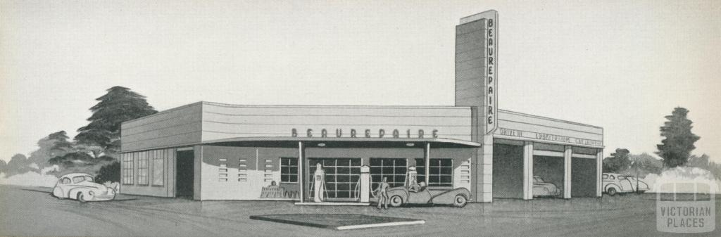 Beaurepaire Tyres, Swan Hill Branch, 1947
