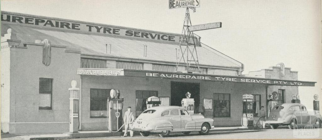 Beaurepaire Tyres, Warrnambool Branch, 1947
