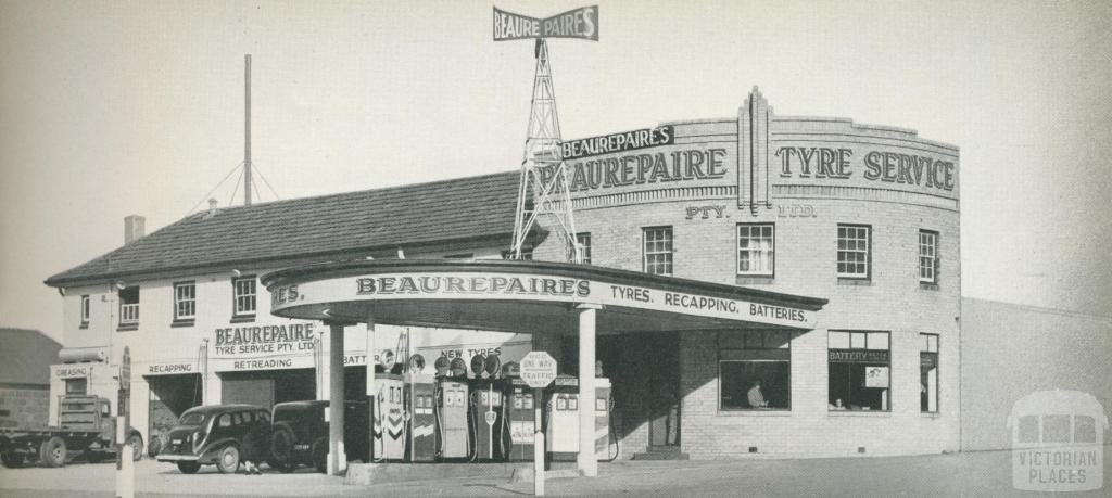 Beaurepaire Tyres, Geelong Branch, 1947