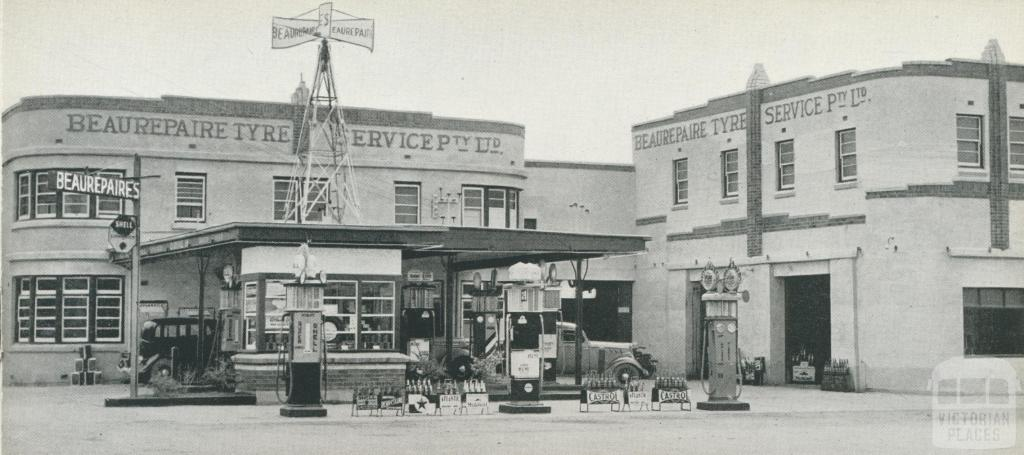 Beaurepaire Tyres, Sale Branch, 1947