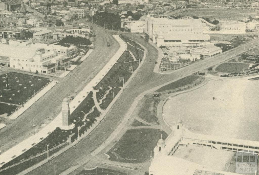 Aerial of St Kilda, c1937