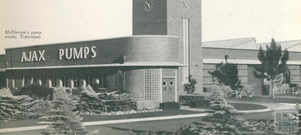 McPherson's pump works, Tottenham, c1952