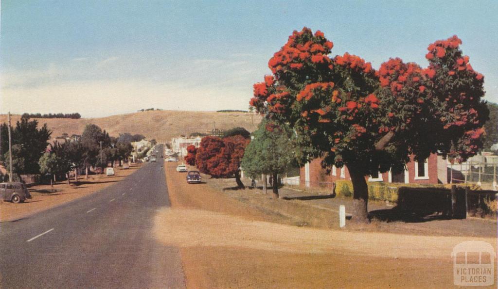 Main Street, Casterton, 1958