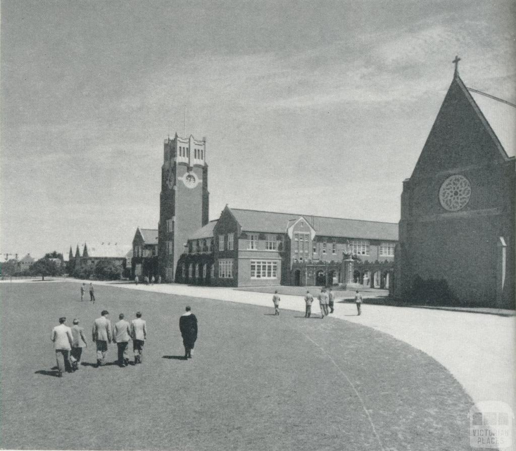Geelong Grammar School, 1958