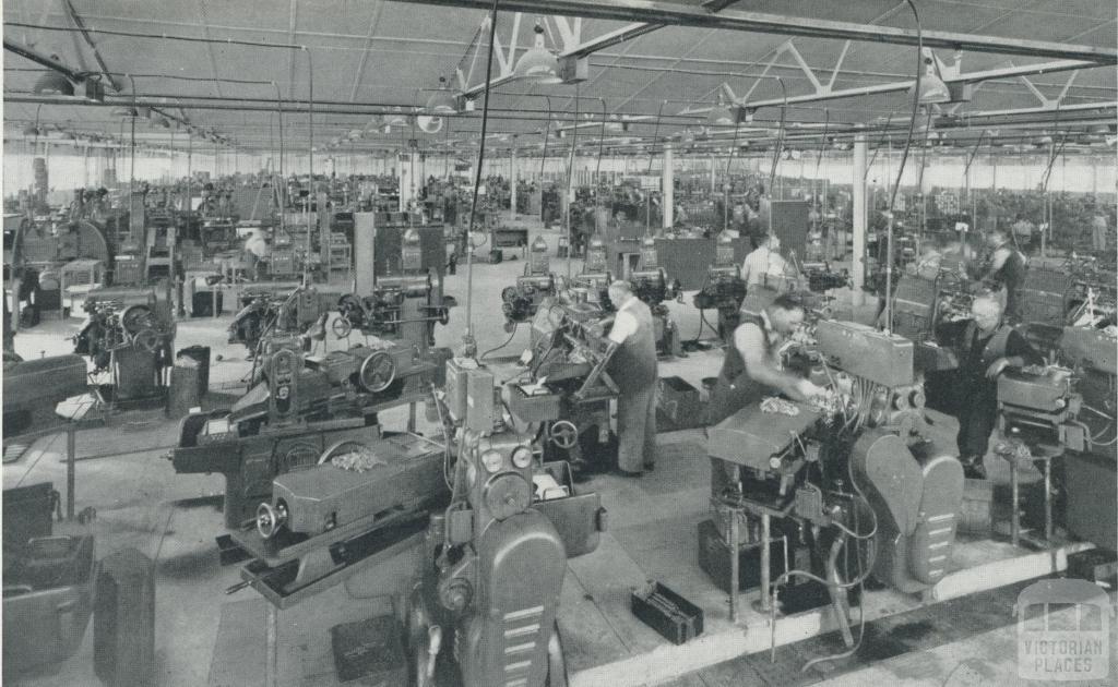 Light engineering works, Maryborough, 1958