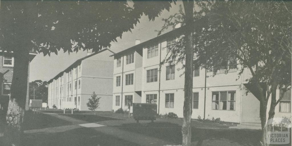 Housing Commission Flats, Carlton, 1960