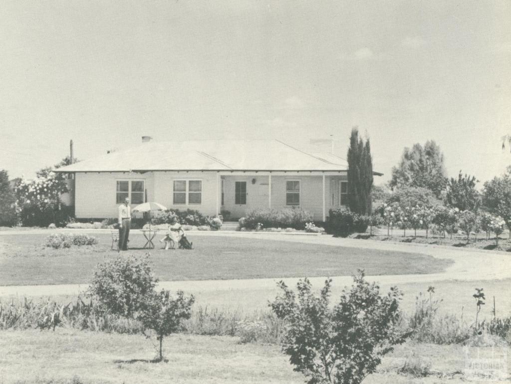 Soldier Settler's Home, Numurkah, 1960