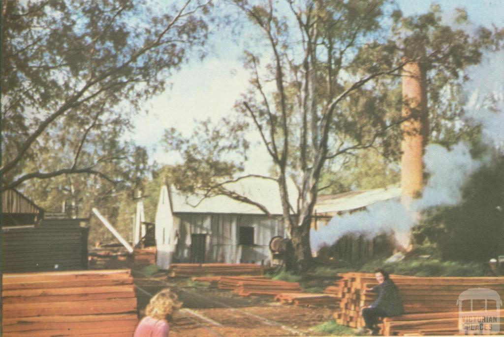 Timber Mill, Koondrook, 1960