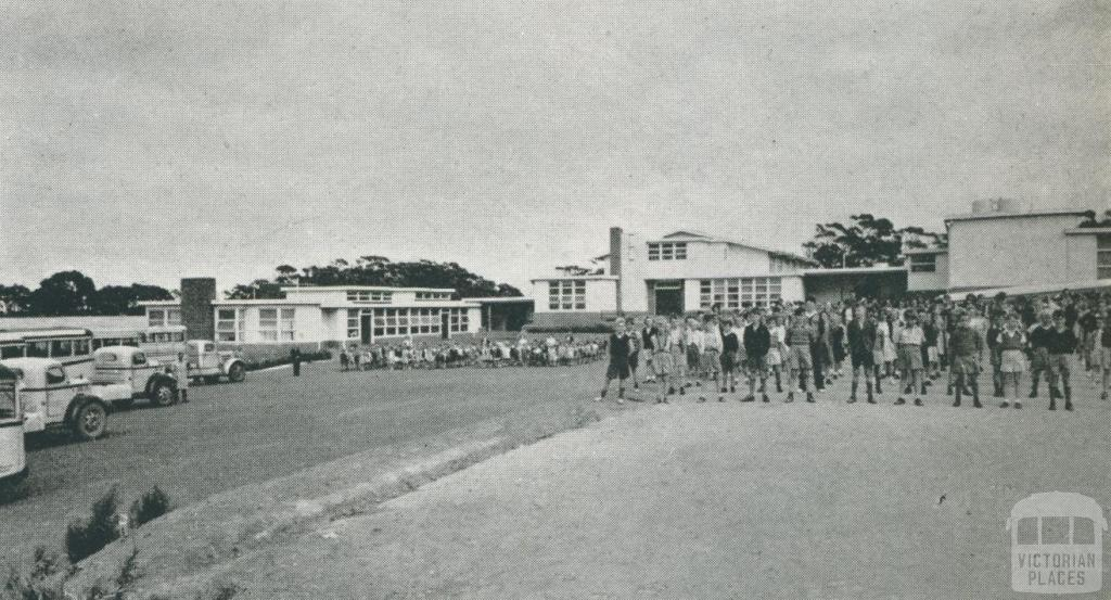Red Hill Consolidated School, 1955