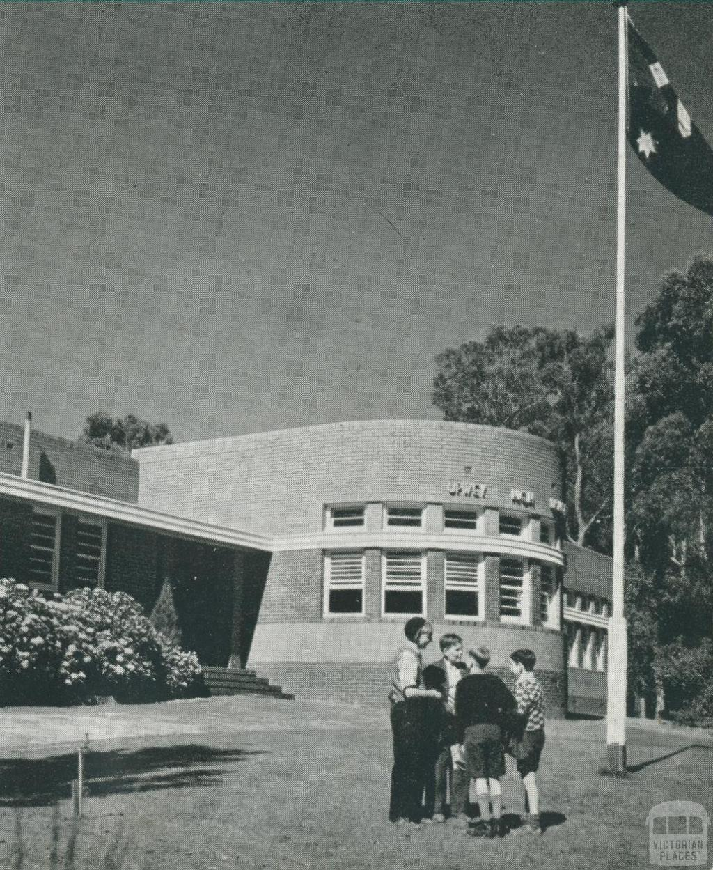 Upwey High School, 1955