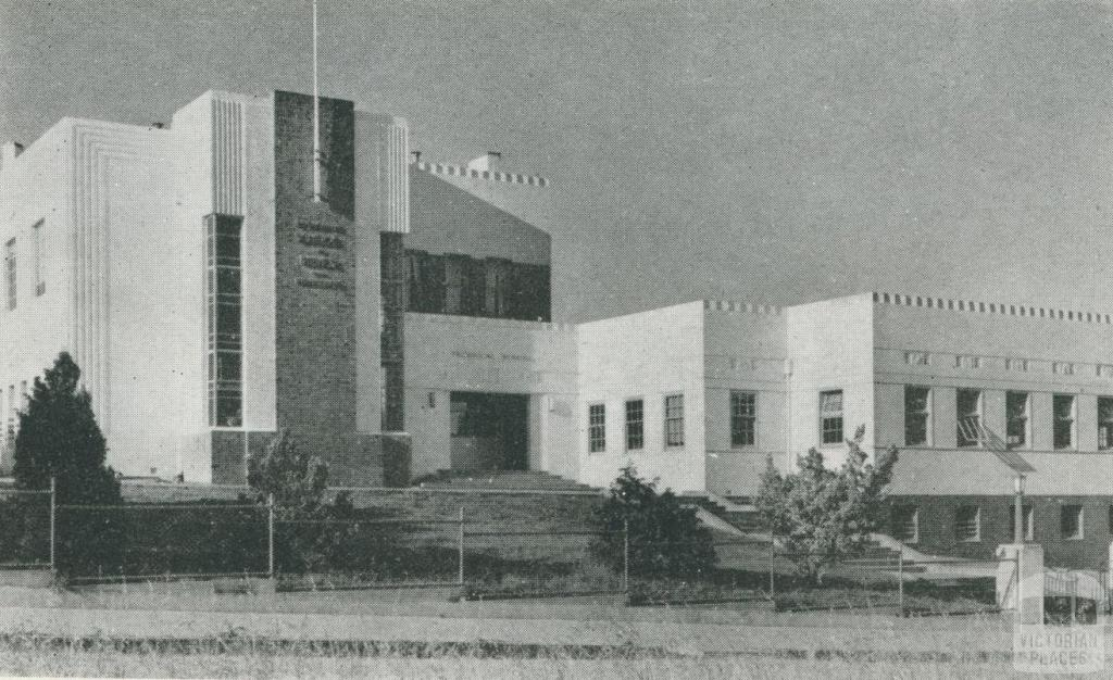 Bairnsdale Technical School, 1955