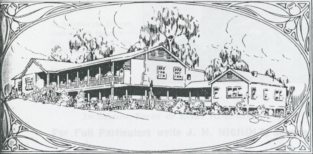 Mount Kitchener House, Marysville, 1931