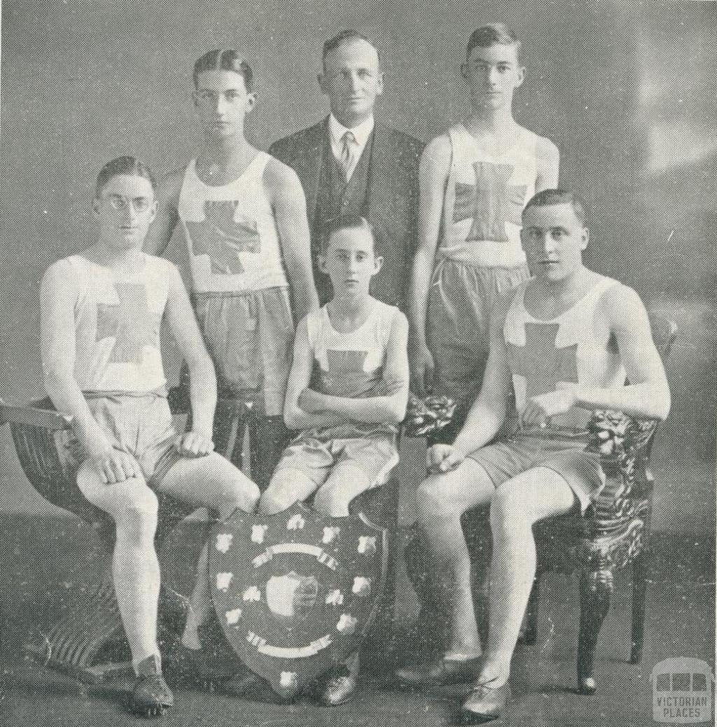 St Joseph's Boys College, Archbishop's Shield, North Melbourne, 1930