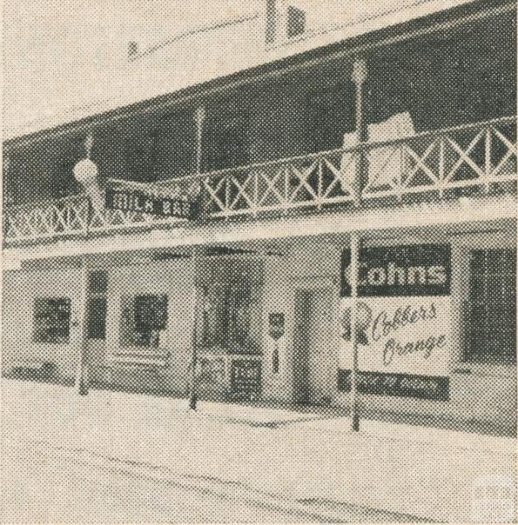 The Milk Bar, Murchison, 1963